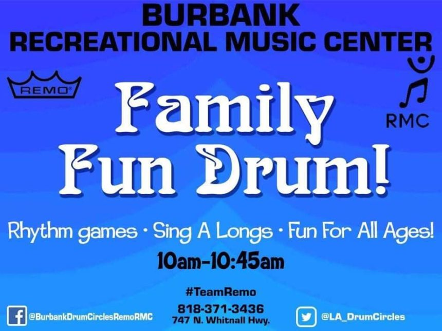 Saturday Kid's Rhythm Club 10:00a.m.