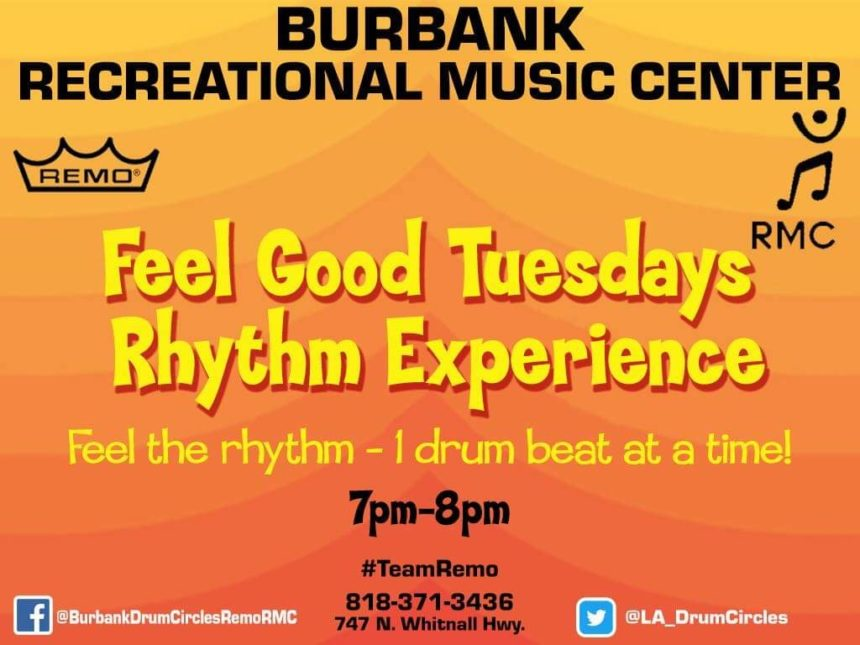 Tuesday Night Community Drum Circle 7:00p.m.
